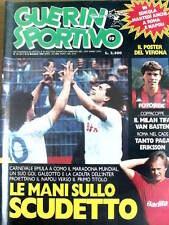 Guerin Sportivo 19 1987 Napoli le mani sullo scudetto Maradona  [GS.29]