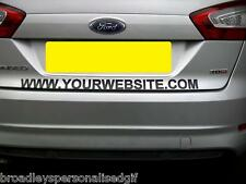 """personalised Cut vinyl lettering 31"""" long 1 3/4 wide letters approx"""