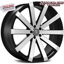 "Velocity VW12A V12A Black Machined 22""x8 Custom Wheel (ONE Rim) FREE Ship"