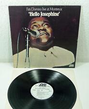 "FATS DOMINO - WL Promo LP Atlantic ""Live at Montreux - Hello Josephine"" 1978 D"