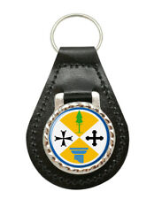 Calabria (Italy) Leather Key Fob