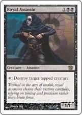 ROYAL ASSASSIN Eighth Edition MTG Black Creature — Human Assassin RARE