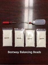 Tire Balancing Beads - 4 bags of 8 oz Tire Beads (32 oz total) + Applicator kit