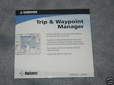 Garmin Mapsource * Trip and Waypoint Manager v3.0  New  010-10215-04