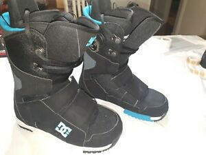 DC Gizmo Snowboard Boots Sz 10 W/Boa Made in 2012 Good Condition!!!