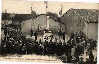 CPA Souvenir de l'Inauguration de Monument de Troyon (232445)