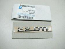 Original Opel Zafira A 2.2 DTI letras cheers 93170308 nuevo