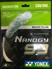 Genuine Yonex NANOGY 99 NBG99 Badminton String White (1 Pack) US-SameDayShip