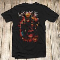 X-Men Wolverine Men's T Shirt 100% Cotton S-5XL Made In USA Marvel Comics Logan