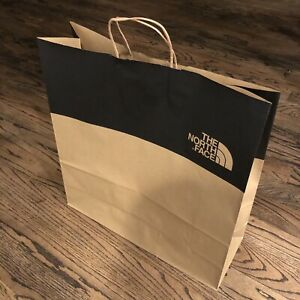 The NORTH FACE Store SHOPPING Paper BAG (Large) Brand New! Authentic