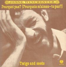 """JESSE WINCHESTER – Pourquoi Pas? (1977 NEAR MINT VINYL SINGLE 7"""" HOLLAND)"""