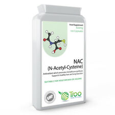 NAC N-Acetyl-Cysteine 600mg 120 Caps - Liver & Lung Function Support Antioxidant