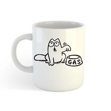 Feed Me Gas Katze 313ml (300ml) Bedruckt Kaffee Tasse Tasse