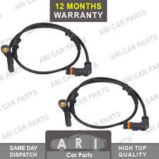 2x Front ABS SPEED SENSOR for MERCEDES-BENZ C-CLASS CLC-CLASS CLK SLK