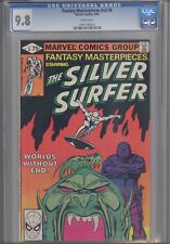 "Fantasy Masterpieces V2 #6 CGC 9.8 1980"" Worlds without End""  Silver Surfer"