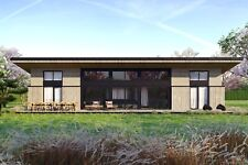 1650 Sqft Eco Solid Timber Airtight Panel House Kit Mass Wood Clt Home Prefab