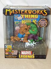 Marvel Legends Masterworks The Thing vs the Incredible Hulk Unopened