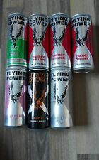 7 Energy Drink Dosen Sammlung Leere Cans Flying Power Set 250ml Empty