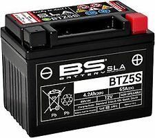 BS BTZ5S SLA Factory Activated Motorcycle Battery to fit KTM EXC 250 2017-
