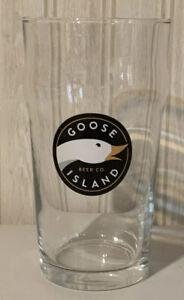 Goose Island Pint Beer Glass
