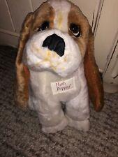 "Vintage Plush Hush Puppies Long Ears Basset Hound Dog 10"" - Super Cute!"