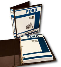 Ford 8000 9000 8600 9600 Tractor Service Manual Repair Shop Technical Workshop