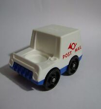 Vintage Fisher Price Little People MAIL TRUCK for MAILMAN w/ Red Lettering Horn