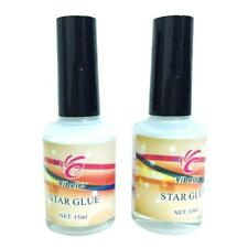 Pro Nail Art Glue for Foil Sticker Nail Transfer Tips Adhesive 15ml Star Nails