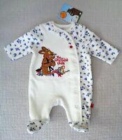 BNWT M&Co Baby Girls Gruffalo's Child Velour Babygrow Sleepsuit Newborn Tiny 7lb