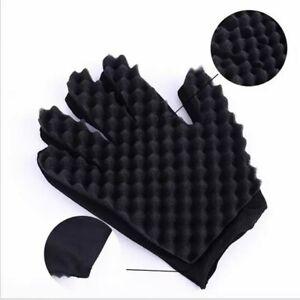 Hair curling sponge glove brand new!