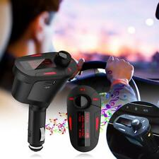 Car Kit MP3 Player Wireless FM Transmitter Modulator LCD USB SD/AUX MMC Remote