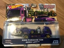 New hot wheels transporter 2018 real riders- Rwb Porsche 930 aero lift