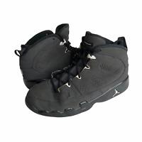 Nike Air Jordan Boys 401811013 Black 9IX Retro Anthracite Lace Up Shoes Size 3Y