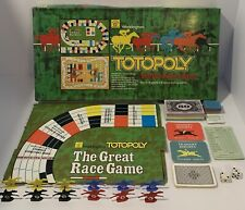 *Missing Instructions* Totopoly Board Game 1978 Waddingtons The Great Race Game