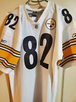RARE 100% Authentic Reebok Antwaan Randle El Pittsburgh Steelers Jersey Away 54