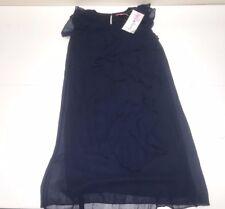 Derhy Kids Girls MARINE CALEBASSE RUFFLE DRESS Sz: 6, S RTL: $100 S2 01141 P635