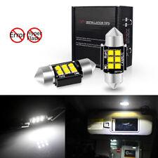 31MM DE3175 LED Interior Dome Trunk Map Lights Bulbs For Nissan Hyundai Subaru