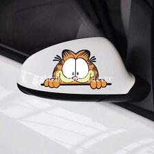 Garfield Cute Cartoon Car Stickers Side Mirror Door Rear Window Decal Sticker