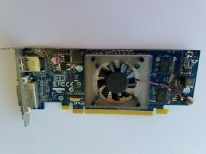 New - 4KHPH Dell AMD Radeon HD 6450 1GB Low Profile HDMI DVI PCIE (115-2)