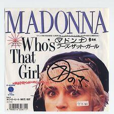 "Madonna - Who's That Girl c/w White Heat 7"" JAPAN PROMO 45"