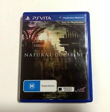 Natural Doctrine - 2014 PlayStation PS Vita Game - Complete Australian Release