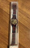 Orologio Swatch Louis Louis GR 106 Quartz. Nuovo - Vintage 1990. Raro Collezione