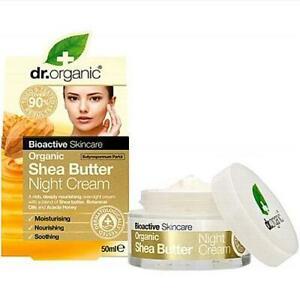 DR ORGANIC Night Cream Shea Butter 50ml