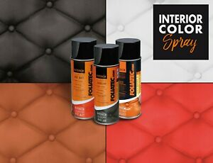 Interior Color Spray 400ml Lederfarbe Innenraum Sitze Kunststoff-Lack FOLIATEC