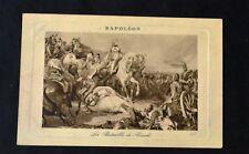 Antiquarian post card. Napoleon on Battle of Rivoli