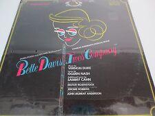 BETTE DAVIS~Two's Company~ORIGINAL CAST~FactorySealed LP CBM1-2757 MONO Red Seal