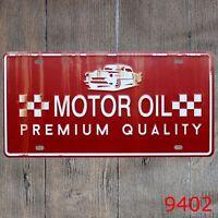 Metal Tin Sign motor oil Decor Bar Pub Home Vintage Retro Poster Cafe ART