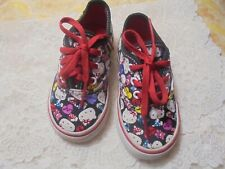 Hello Kitty Sneakers, Off The Wall, Toddler, Girls size 6, colorful lace ups