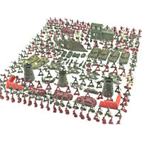 290x Plastic Army Playset Soldier Men Toy Military Fighter Toy Model Accessories