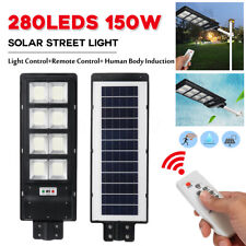 150w Light Control+Remote Control+PIR Human Body Induction Solar Street Light